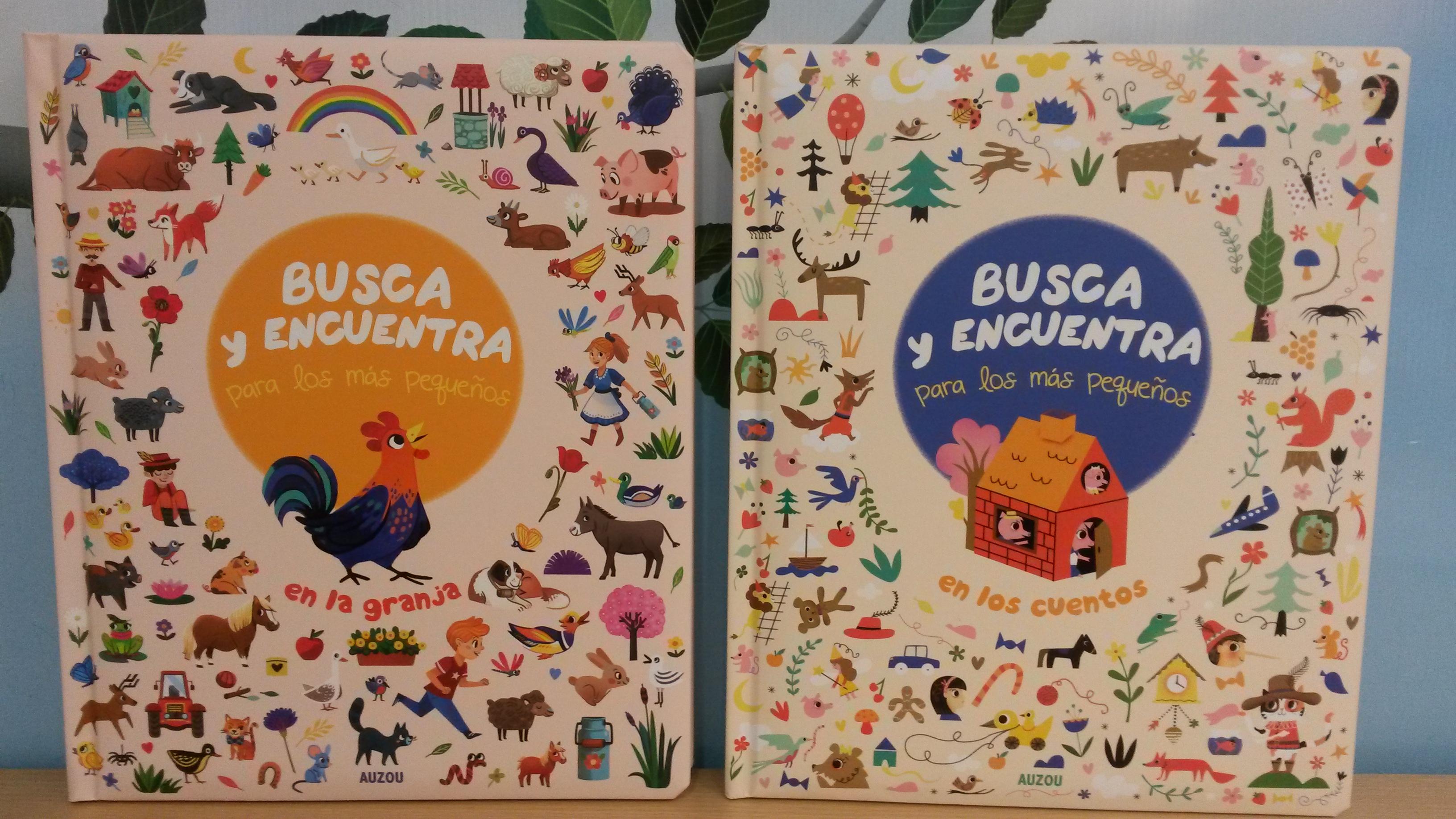 libros infantiles busca y encuentra